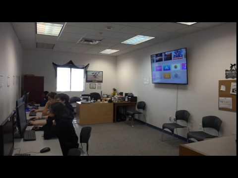 the Vanguard School Digital Media Class