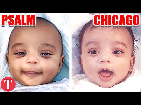 Celebrity Kids Doppelgangers That Will Creep You Out