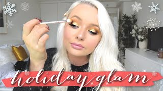 AFFORDABLE HOLIDAY GLAM TUTORIAL