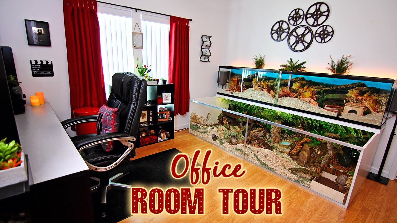 Room Tour My Hamster Area Amp Office Movie Themed Youtube
