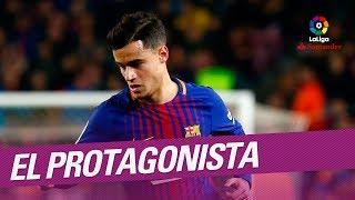 El Protagonista: Philippe Coutinho, jugador del FC Barcelona