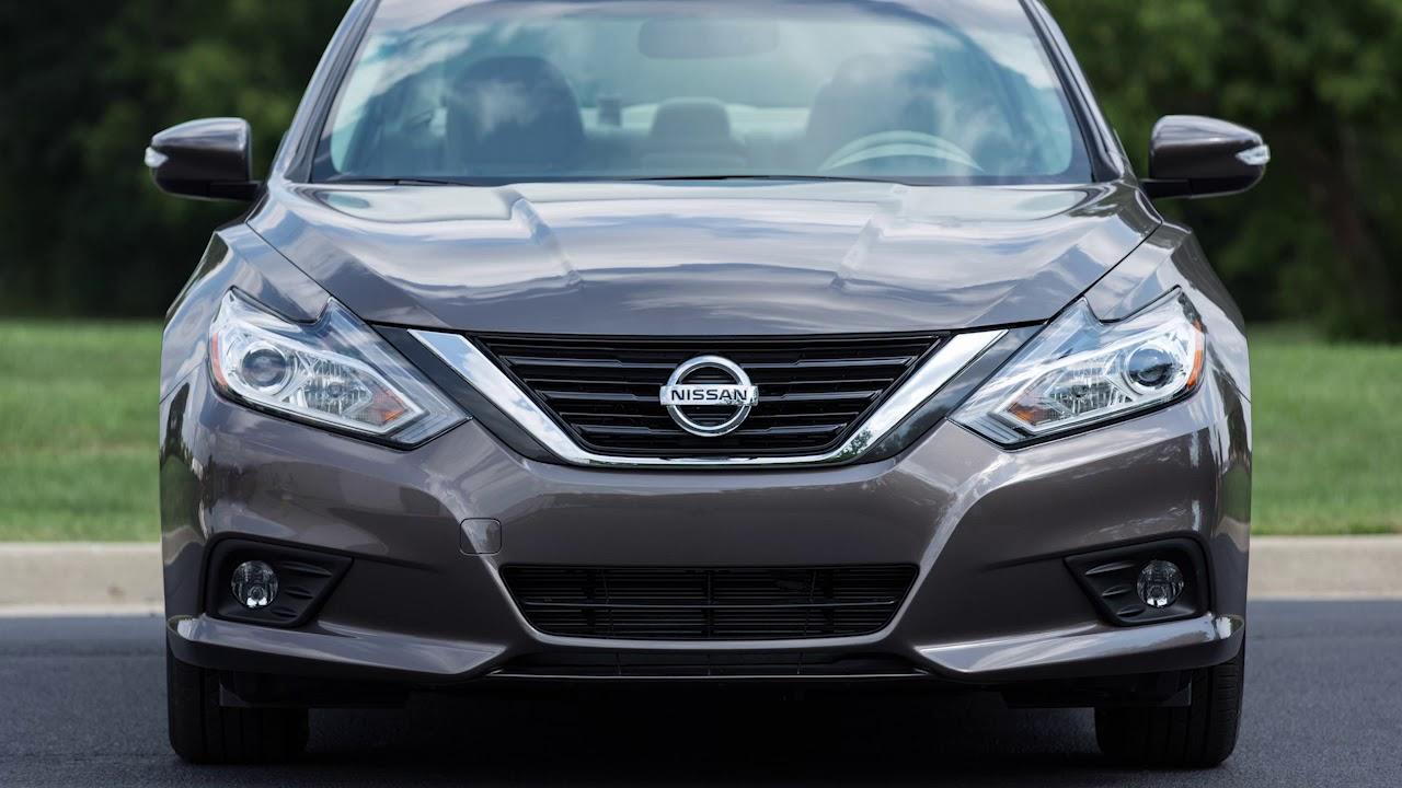 2018 Nissan Altima Automatic Emergency Braking Aeb Youtube Fully Light