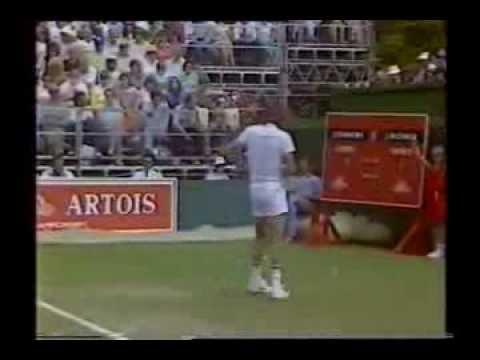 Jimmy Connors v McEnroe Final - Queens 1983