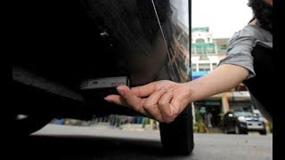 best gps installation in car swift dezire completely hiddden