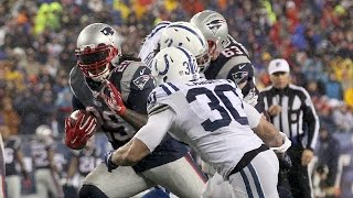 Colts vs. Patriots AFC Championship Game highlights
