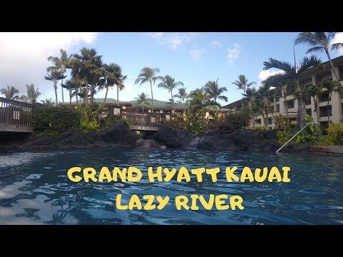 Grand Hyatt Kauai Lazy River Swimming Pool