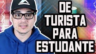 TROCA DE STATUS TURISTA PARA ESTUDANTE