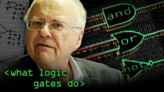 AND OR NOT - Logic Gates Explained - Computerphile