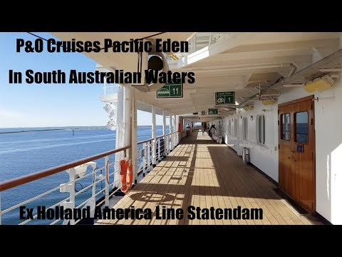 PACIFIC EDEN ex STATENDAM cruise April 2016 Adelaide-Port Lincoln-Adelaide