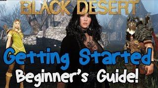 Black Desert Online: Getting Started Beginners Guide