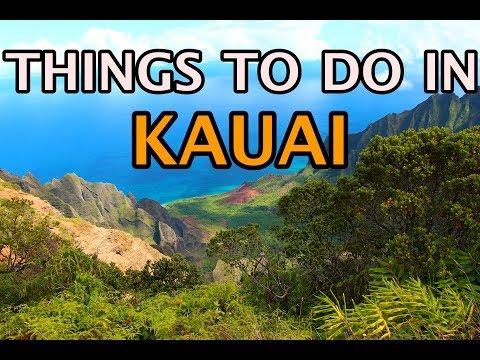 Top Things To Do in Kauai, Hawaii 4K