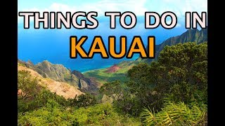 Top Things To Do in Kauai, Hawaii 4K
