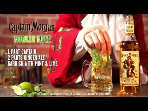 Morgan Mule Rum Recipe: The Captain's Drink of Choice | Captain Morgan