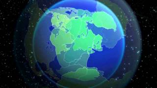 """Continental Drift Pangea Final"" Pangea Plate Tectonics (english version)"