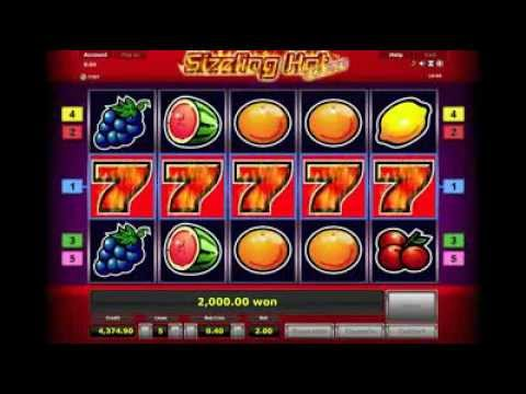 Novoline slot machine game - Sizzling Hot online