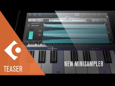 New Minisampler, Pianos and Premium Drum Kits | Cubasis Teaser Video