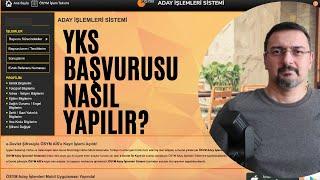YKS BAŞVURUSU NASIL YAPILIR 2021