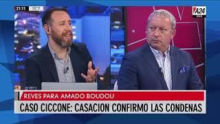 Caso Ciccone: casasión confirmó las condenas