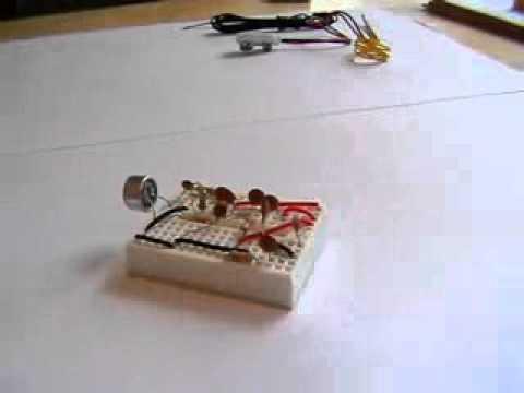 A Breadboard FM Transmitter Bug low