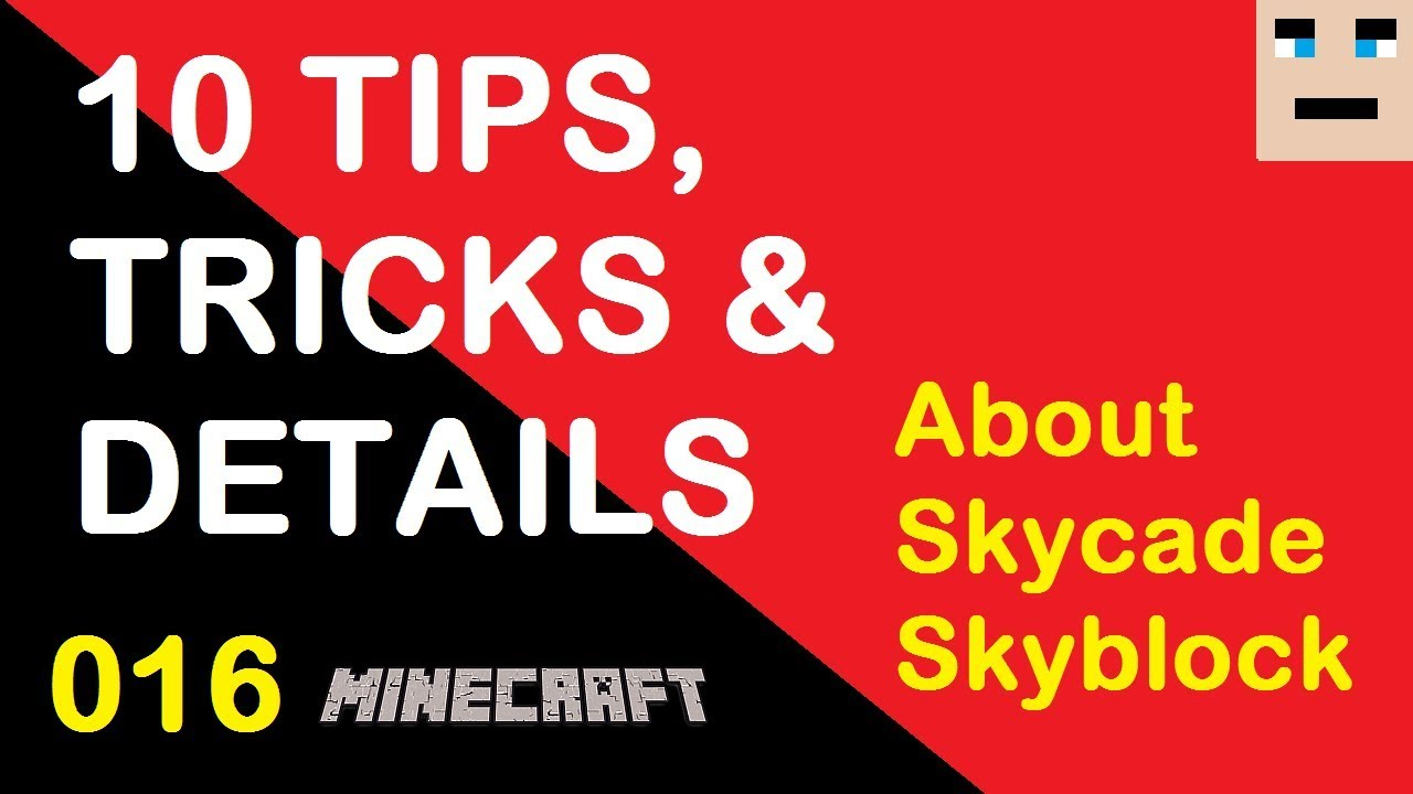 10 Minecraft Skyblock Tips and Tricks for the Skycade Servers