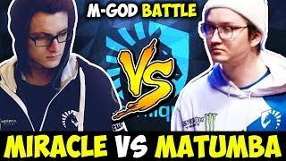 Miracle Vs Matumbaman Mid Battle - Who Is The Best Dota 2