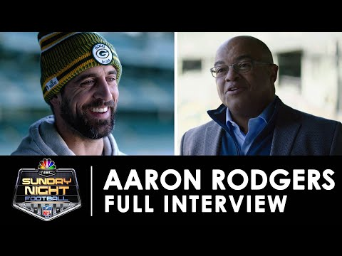 Aaron Rodgers Discusses New Energy Surrounding The Green Bay Packers (FULL INTERVIEW) | NBC Sports