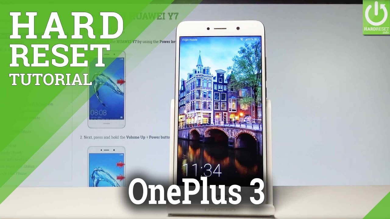 Hard Reset OnePlus One - HardReset info