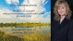 Darling Homes Sedona Lakes 3119 Manzanita Manvel TX