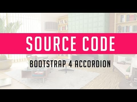Bootstrap 4 Accordion ( Source Code )
