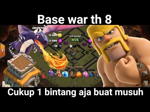base war th 8 terkuat dan terbaik | base th 8 war | base coc th 8 war |
