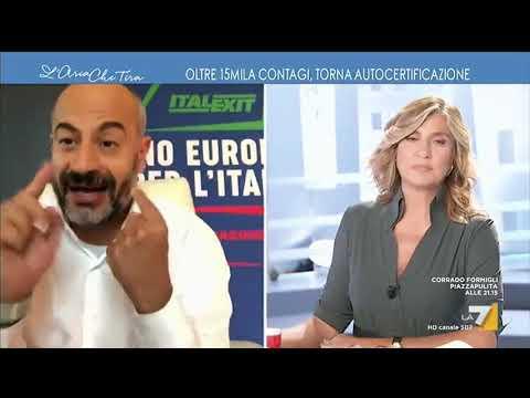 """Gianluigi Paragone: """"Siamo seri, gli italiani hanno frequentato ristoranti e locali che erano ..."""