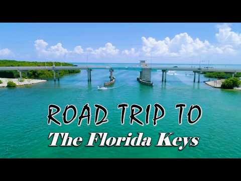 Road Trip to The Florida Keys | Drone Footage | Miami Fl | 4K
