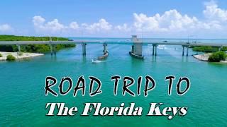 Road Trip to The Florida Keys | Drone Footage | Miami Fl | 4K