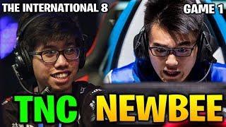 TNC vs NEWBEE TI8 - THE INTERNATIONAL 8 Game 1 Day 1