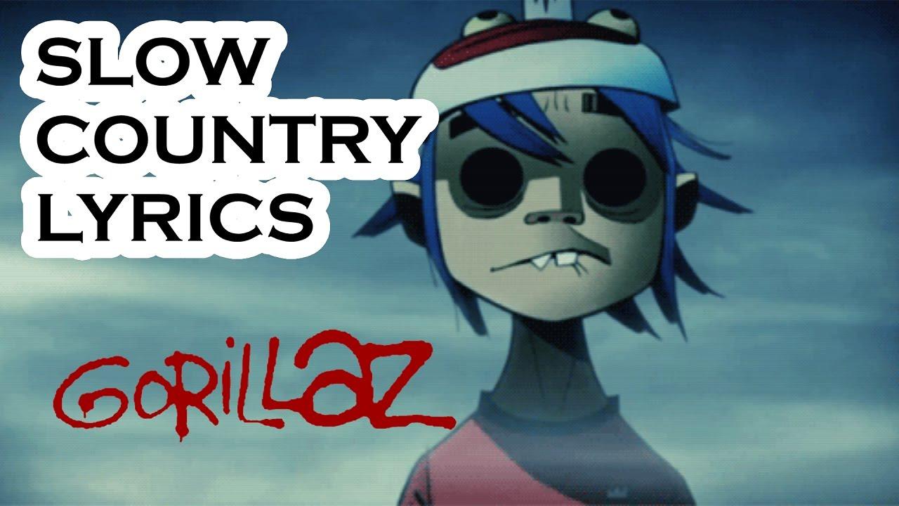 Download Gorillaz - Slow Country (Lyric Video)