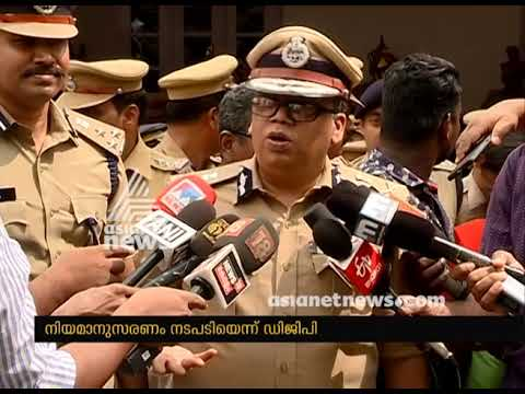 Lokanath Behera responds on Women's entry and Kerala Police's stance on Sabarimala Issue