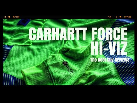 CARHARTT FORCE HIGH-VISIBILITY LONG-SLEEVE C-3 T-SHIRT [ The Boot Guy Reviews ]