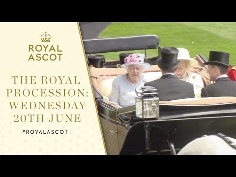 The Royal Procession Wednesday 20th June | Royal Ascot 2018