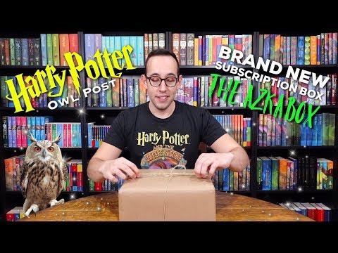 A BRAND NEW HARRY POTTER SUBSCRIPTION BOX | The Azkabox