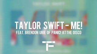 [TRADUCTION FRANÇAISE] Taylor Swift - ME! (feat. Brendon Urie of Panic! At The Disco)