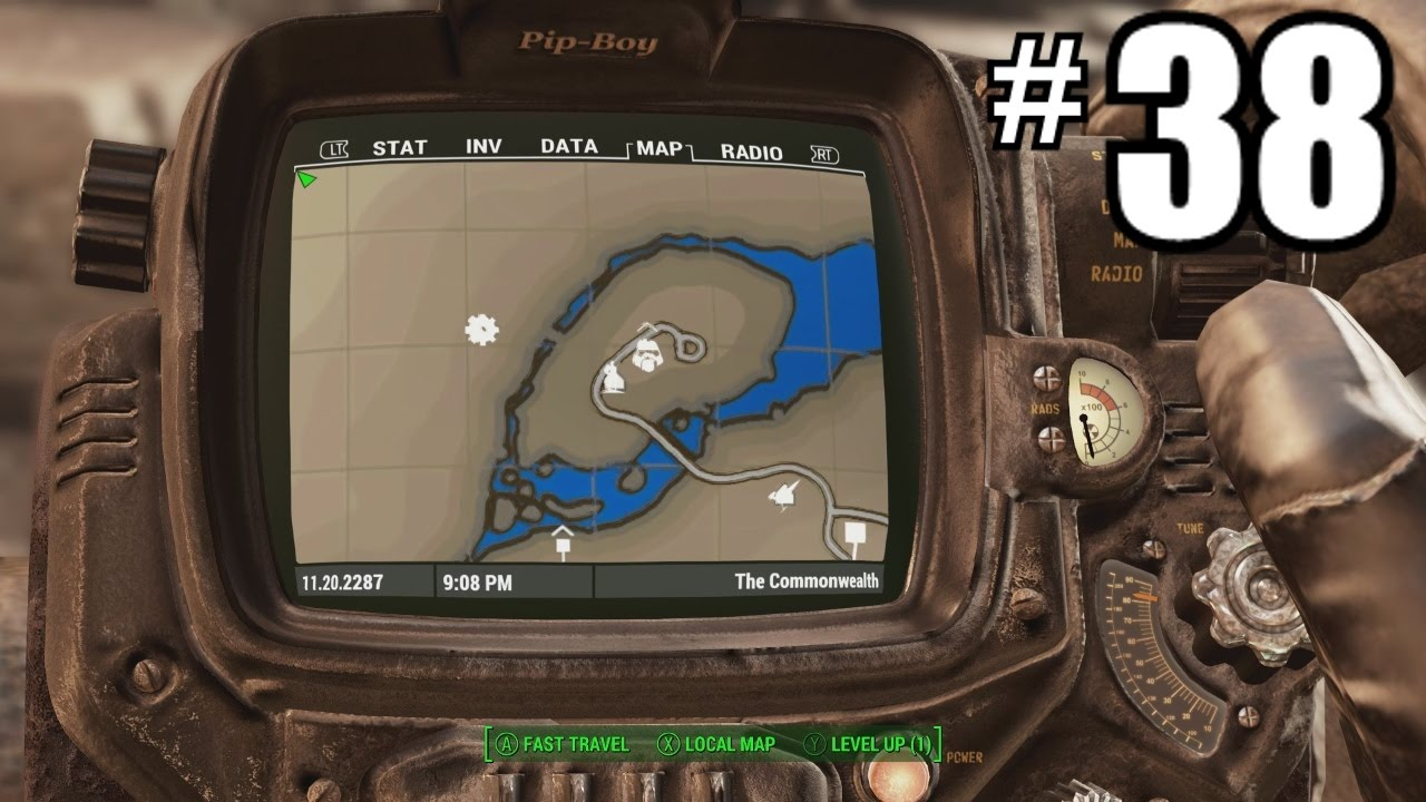 Fallout 4 Colour Map Hd Pip Boy Mods Walkthrough Part 38 Gtx