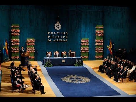 Ceremonia de entrega de los Premios Príncipe de Asturias 2014