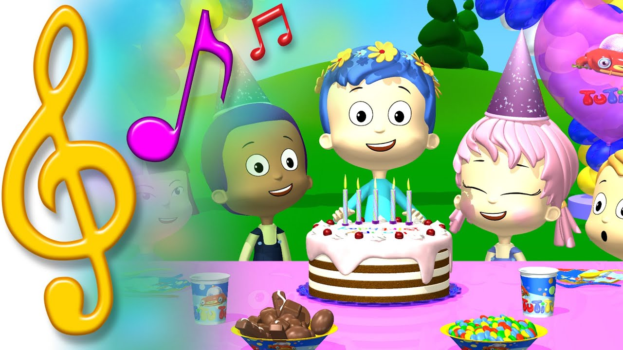 TuTiTu Songs Happy Birthday Song Songs for Children with Lyrics