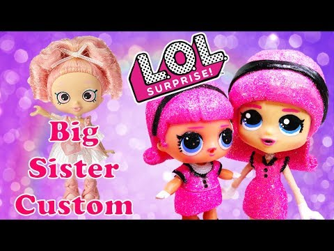 LOL SURPRISE Doll Madame Queen Big Sister Shoppie Custom Makeover