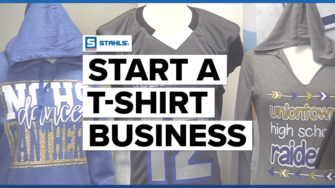 How To Start a T-shirt Business Using a Heat Press and Vinyl Cutter