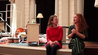 1 minuut met mezzosopraan Sofie Habets in Concertgebouw over Sofie & de Mannetjes van de Tijd
