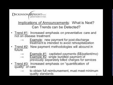 Implications of Recent Medicare Announcements on Trends in Physician Payment Methods