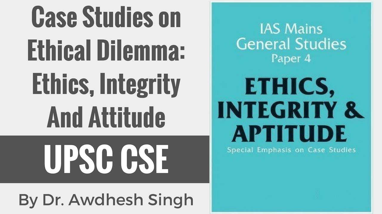 case study approaches to ethical dilemmas The case studies illustrate the application of the 'conceptual framework' approach to resolving ethical dilemmas this approach focuses on safeguarding the fundamental.