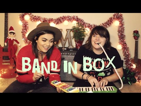 BAND IN A BOX CHALLENGE - Mackenzie Johnson ft. Jeanette Lynne