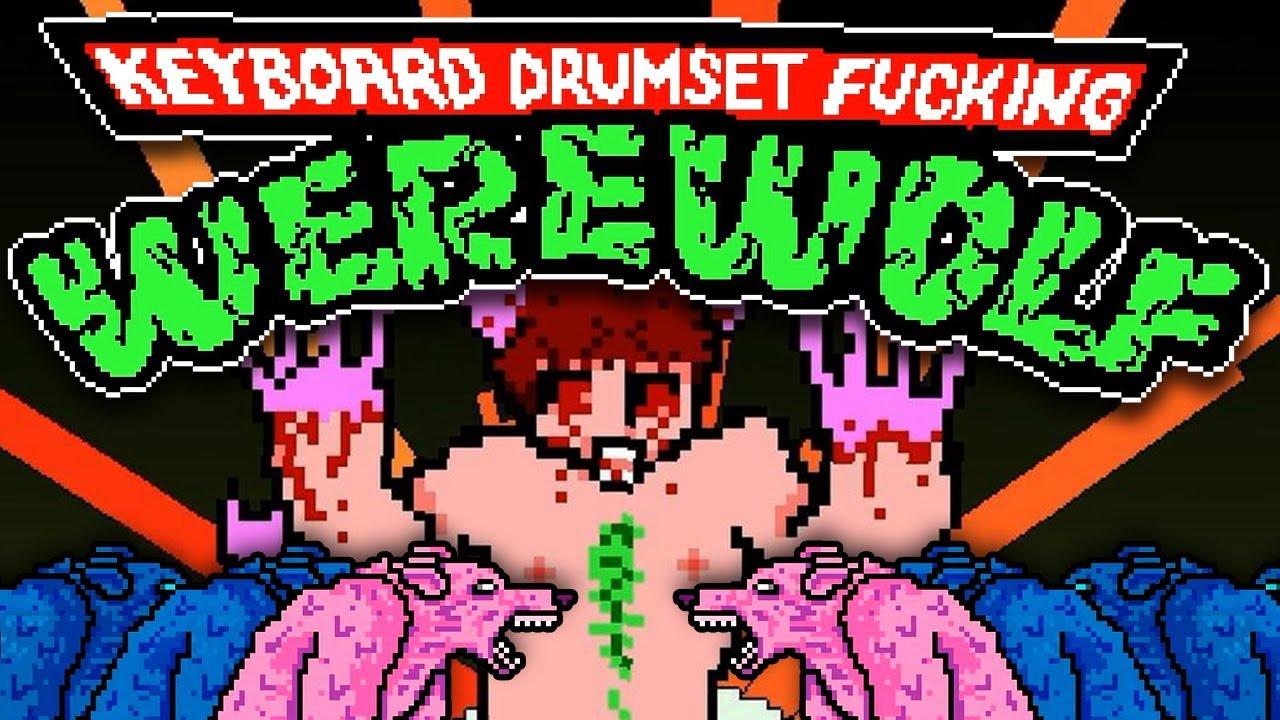 KEYBOARD DRUMSET FUCKING WEREWOLF [HD+] - Team Jacob auf CRACK! ★ Indie